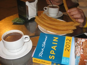 Original experience in Spain with Churros y Chocolate!