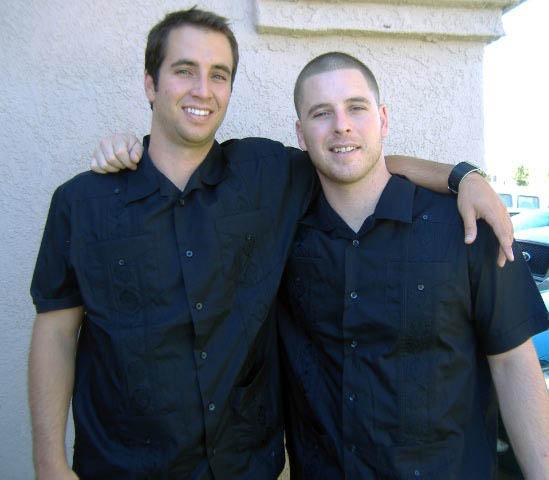 Michael and David