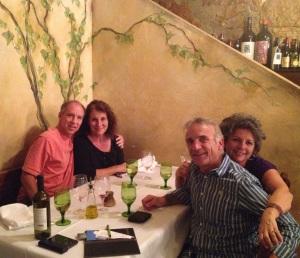 Dinner at Rustico