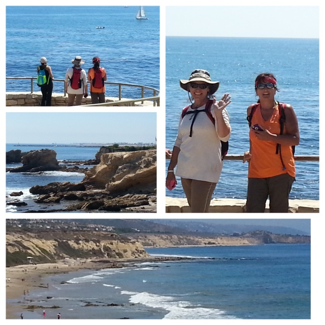 On the Crystal Cove Beach Trail