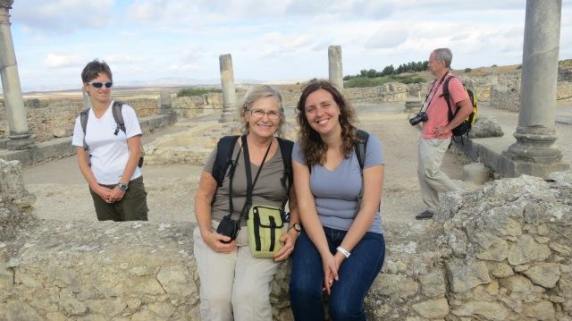 Gerri and Andrea at Ruins