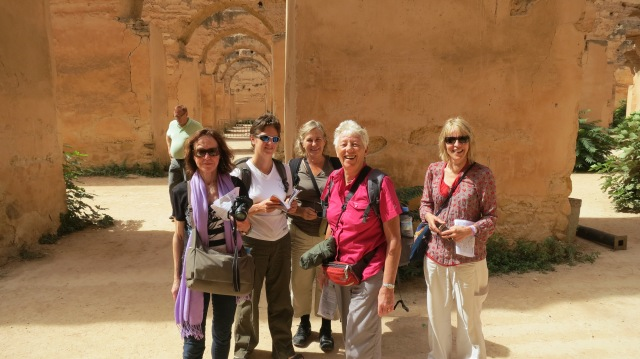 In Fes with Chris, Sarah, Gerri, Dawn and Allison