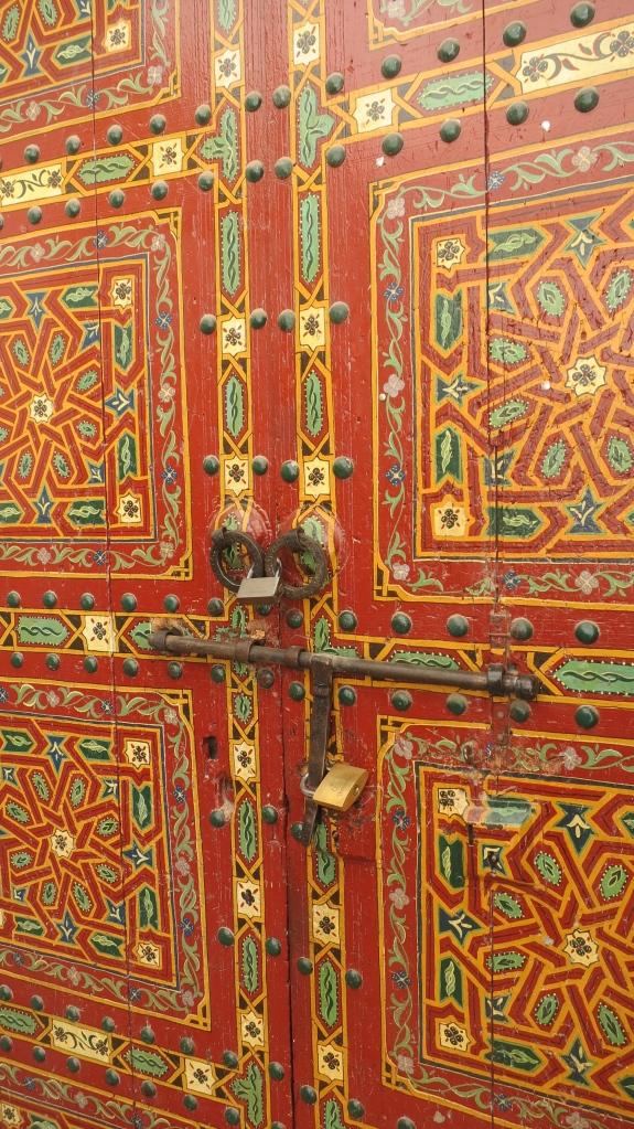 Beautiful door in Medina