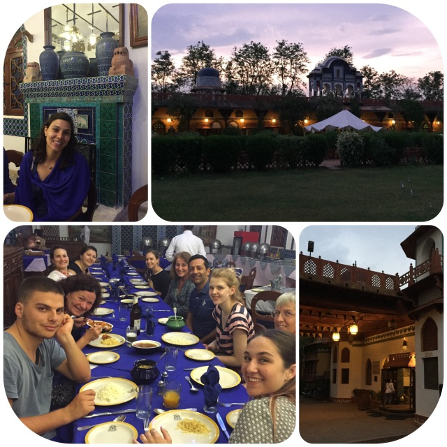 A really special evening together before departing Orchha!